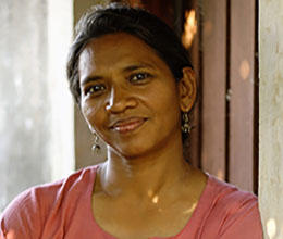 Malini Subramaniam began working in the Bastar district of India's central Chhattisgarh state in 2015. (Sakhi)