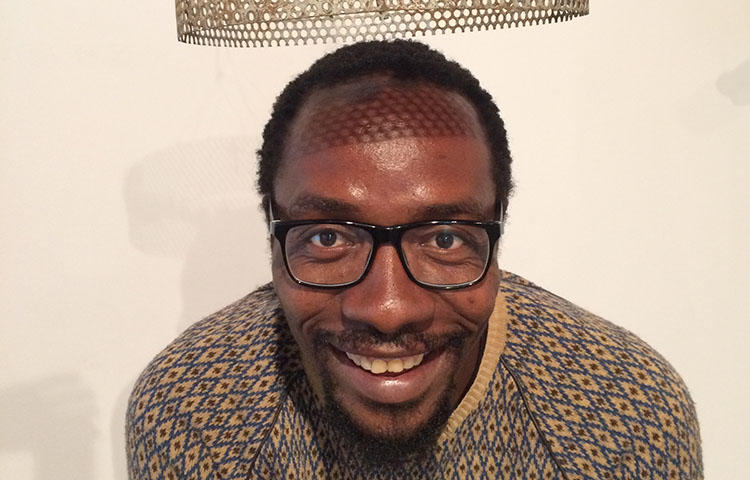 Equatoguinean cartoonist and blogger Ramón Nsé Esono Ebalé served more than five months in prison on false charges of money laundering and counterfeiting. (Eloísa Vaello Marco)