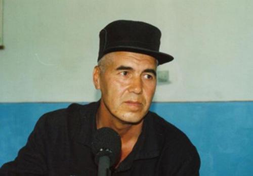 Uzbek journalist Muhammad Bekjanov. (Galima Bukharbaeva)