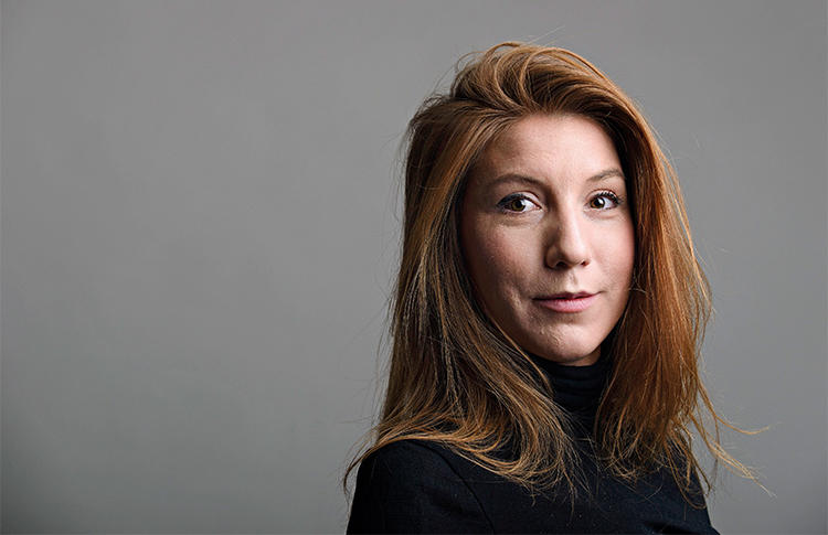 Freelance journalist Kim Wall. A Danish court sentenced a man to life in prison for her killing in August 2017. (TT News Agency/Tom Wall/Reuters)