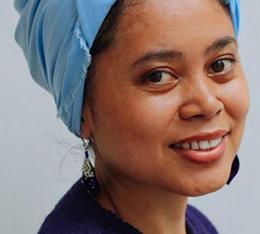 Journalist Febriana Firdaus. (Thomas M Brown)