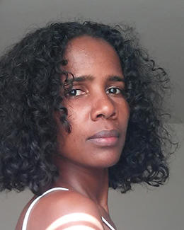Photojournalist Aziza Mohamed fled Ethiopia after being released from jail. (Image courtesy of Aziza Mohamed)