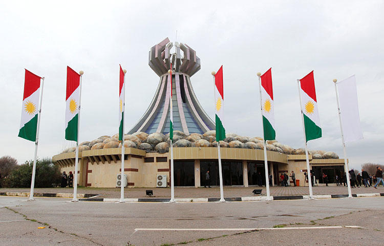 A general view of Halabja Museum, near Sulaymaniyah, Iraq on March 16, 2018. Iraqi authorities on May 29 issued an arrest warrant for Hossam al-Kaabi, an Iraqi correspondent for the Sulaymaniyah-based independent broadcaster NRT Arabic, according to reports. (Reuters/Ako Rasheed)