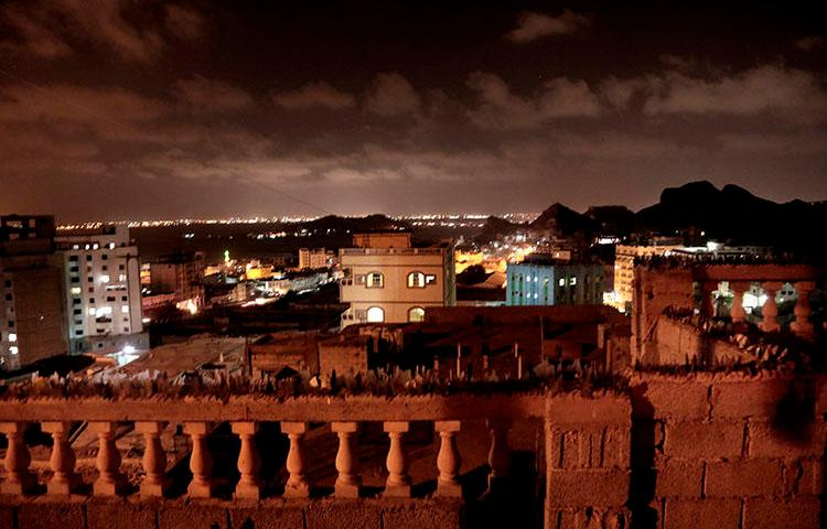 A general view of Aden, Yemen on February 16, 2018. Violence, famine and disease have ravished the country of some 28 million, which was already the Arab world's poorest before the conflict began. Yemeni journalist Mazen al-Shaabi was attacked by unknown gunmen while driving home the evening of July 23, according to reports. (AP/Nariman El-Mofty)