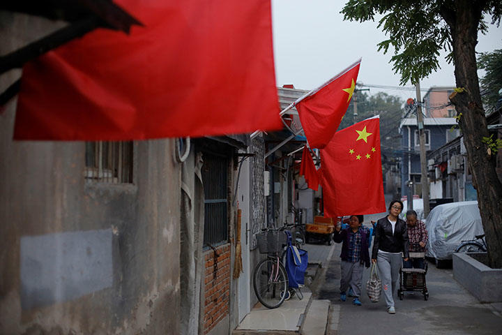 A hutong alley in Beijing in October 2017. Hunan Province police arrested Chen Jieren, an independent blogger who frequently published articles critical of the Communist Party on his blog, on July 4, 2018, according to reports. (Reuters/Thomas Peter)