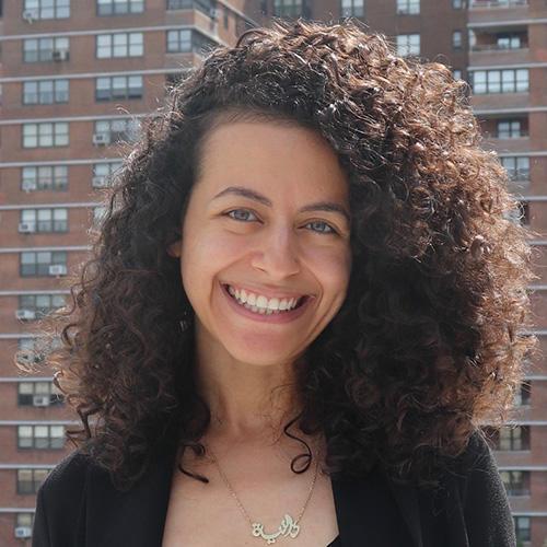 Danya Hajjaji, CPJ's Patti Birch Fellow for Middle East Research. (CPJ)