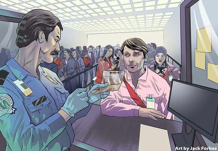 Journalists flagged by CBP for secondary screening say they find questions about their past and current reporting invasive, and are uncertain of their rights when agents demand passwords for electronic devices.