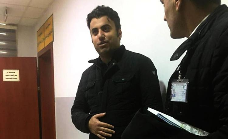 Freelance journalist Sherwan Amin Sherwani has been detained by Kurdish authorities for weeks; CPJ is calling for his release. (Photo by Hushyar Sherkawaye)
