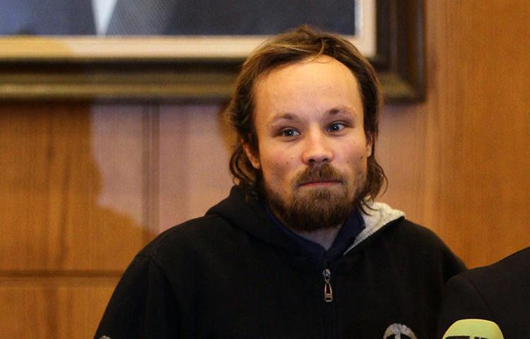 O jornalista alemão Billy Six visto em Damasco em 5 de março de 2013. Six foi recentemente libertado na Venezuela, onde ficou preso por quase quatro meses. (AFP/Louai Beshara)