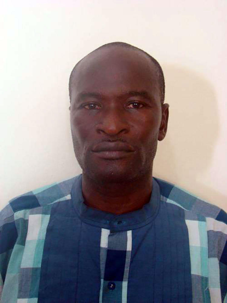 A picture of Jones Abiri after he was arrested by Nigeria's Department of State Services (DSS) in 2016. (DSS/ Sahara Reporters)