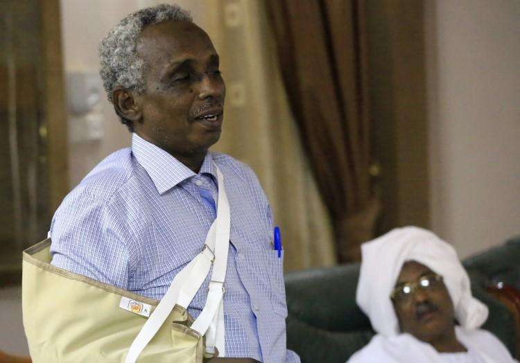 Al-Tayar Editor-in-Chief Osman Mirghani is seen in Khartoum, Sudan, on July 23, 2014. In late February 2019, he was taken by Sudanese authorities, who have not released his location or announced any charges against him. (Mohamed Nureldin Abdallah/Reuters)