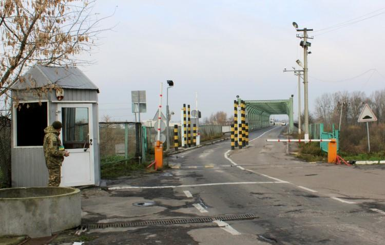 The Ustilug checkpoint on Ukraine's border with Poland is seen on November 15, 2017. An Austrian journalist was recently banned from entering Ukraine for one year. (Reuters)