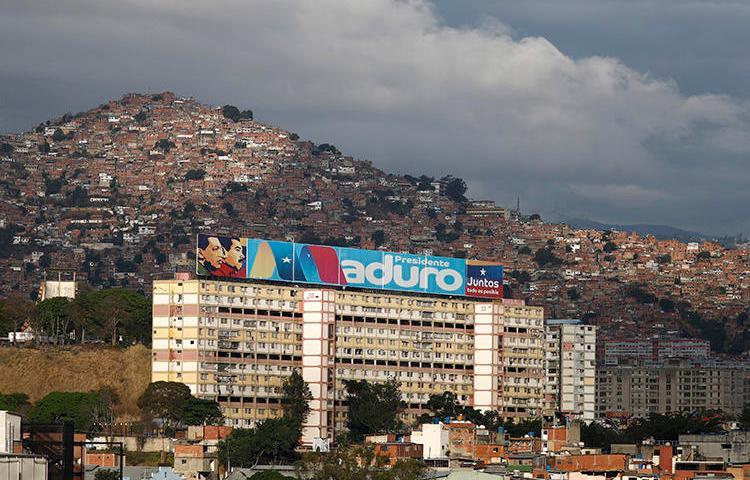 Caracas, Venezuela, vista em 20 de maio de 2018. Um repórter polonês foi recentemente atacado por desconhecidos em Caracas. (Reuters/Marco Bello)