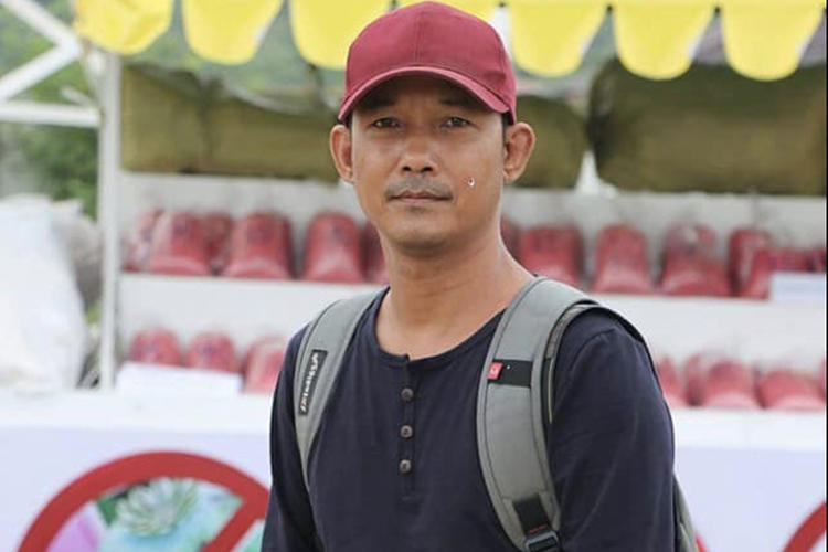 Nanda, a broadcast reporter with the local privately owned Channel Mandalay, has been detained since May 15. (CPJ via Channel Mandalay's Facebook page, used with permission)
