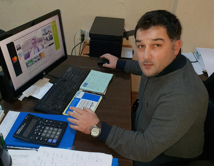 Anar Mammadov, editor-in-chief of independent news website Criminal.az, is set to appeal his conviction on false news, anti-state, and other charges on June 4. (Anar Mammadov)
