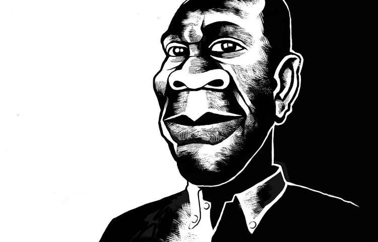 An illustration of Tanzanian journalist Azory Gwanda. (Credit withheld)