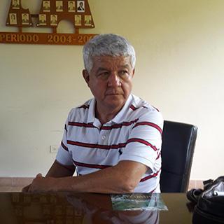 Leobar Ibarra, a journalist in Samaniego. (CPJ/John Otis)