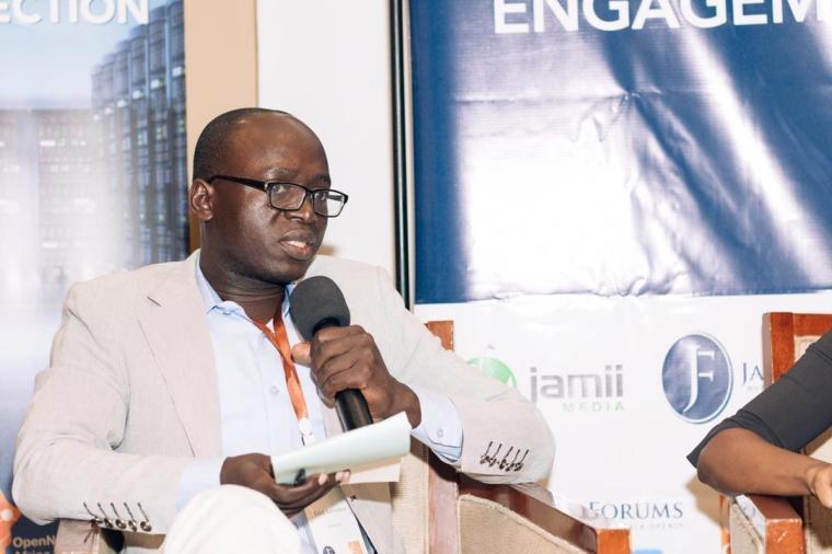 Freelance journalist Erick Kabendera, who is detained in Tanzania. (Jamii Forums)