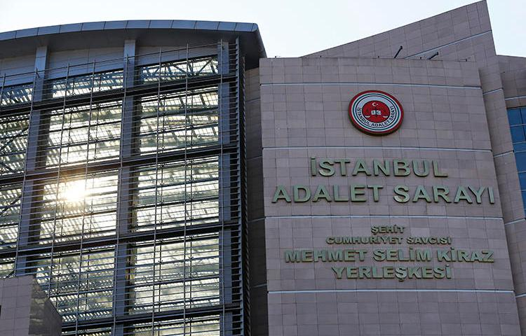 A Turkish court is seen in Istanbul on July 6, 2018. Turkey's courts recently opened their new judicial year with fines and stiff penalties for journalists. (AP/Lefteris Pitarakis)