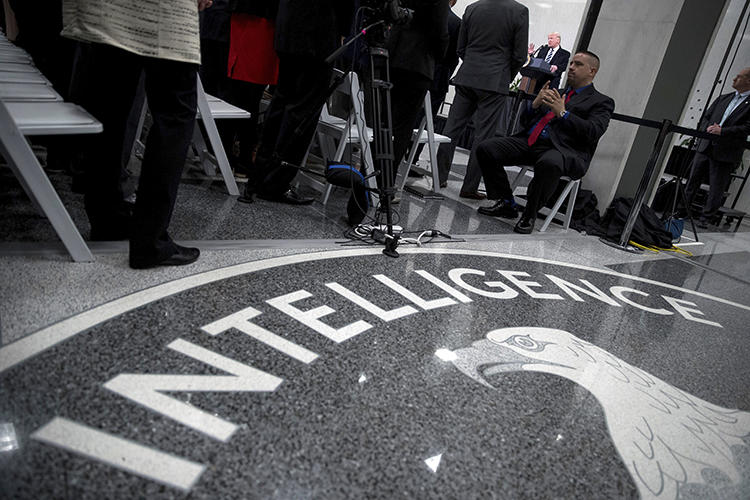 The Central Intelligence Agency building is seen in Langley, Virginia, on January 21, 2017. CPJ recently filed a brief requesting the U.S. intelligence community release documents relating to the killing of Saudi journalist Jamal Khashoggi. (AP/Andrew Harnik)