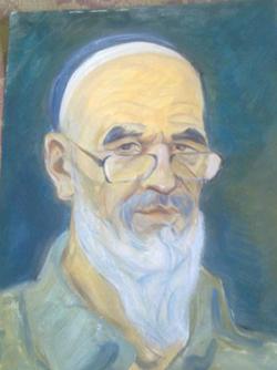 Azimjon Askarov self-portrait (Askarov family)