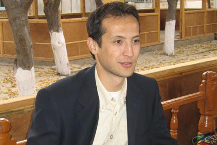Alisher Saipov is seen on October 24, 2007, the day he was killed. Kyrgyzstan authorities recently reopened an investigation into his killing. (Photo provided to CPJ by Saipov family)