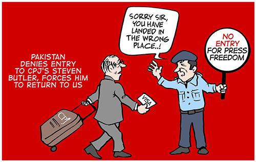 Cartoon by Afraid Canvas.