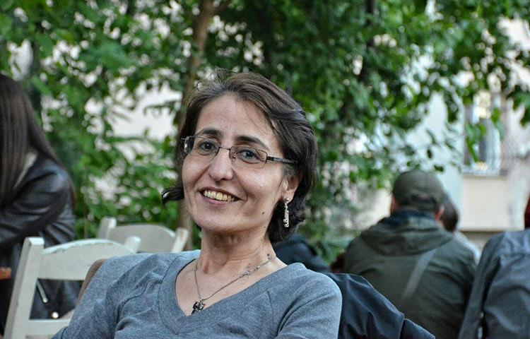 Semiha Şahin, an editor at ETHA, is in legal limbo after Turkish authorities failed to fully implement the terms of her house arrest. (ETHA)