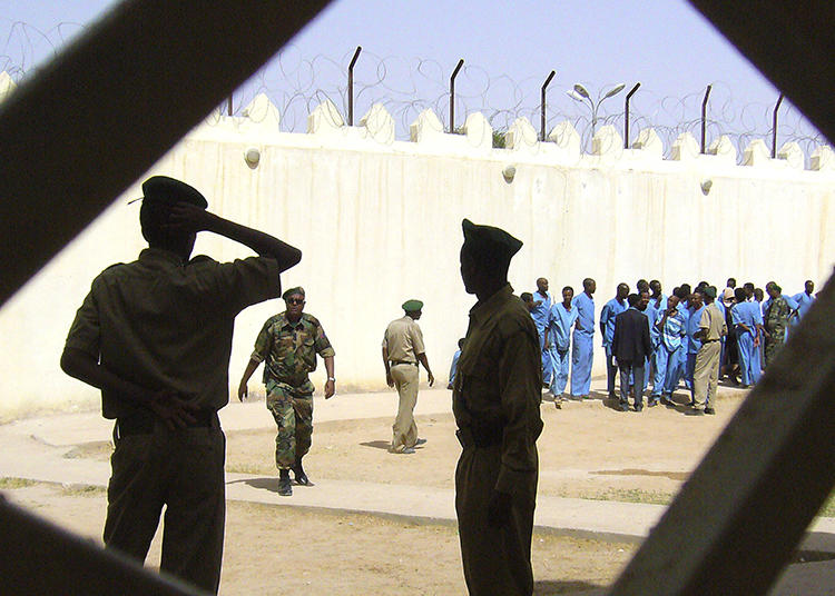 A prison is seen in Hargeisa, Somaliland, on March 29, 2011. Somaliland authorities recently sentenced journalist Abdirahman Mohamed Hiddig to 21 months in prison. (AP/Katharine Houreld)