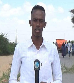 Somali journalist Abdiwali Ali Hassan. (Photo: Universal TV)