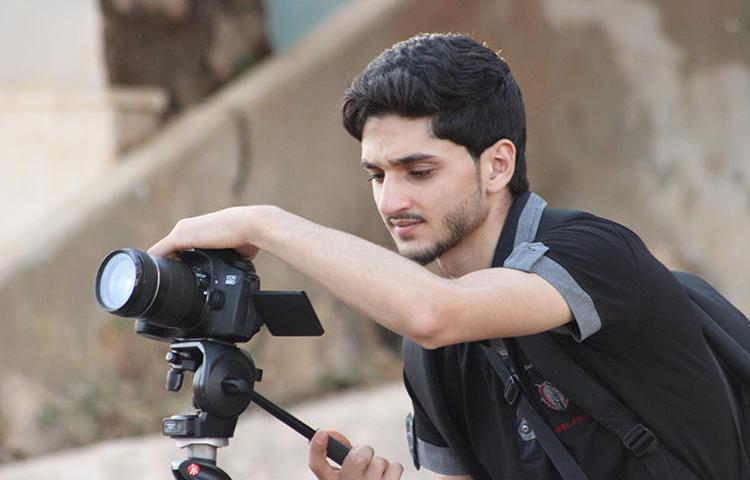 Syrian journalist Abdul Nasser Haj Hamdan was killed in Ma'arat al-Naasan on February 20. (Media Office in Binnish)