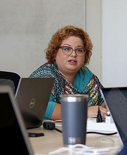 Center for Investigative Journalism executive director Carla Minet (Photo: Gabriel López Albarrán)
