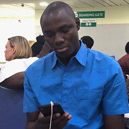 Nigerian journalist Samuel Ogundipe (Photo: Samuel Ogundipe)