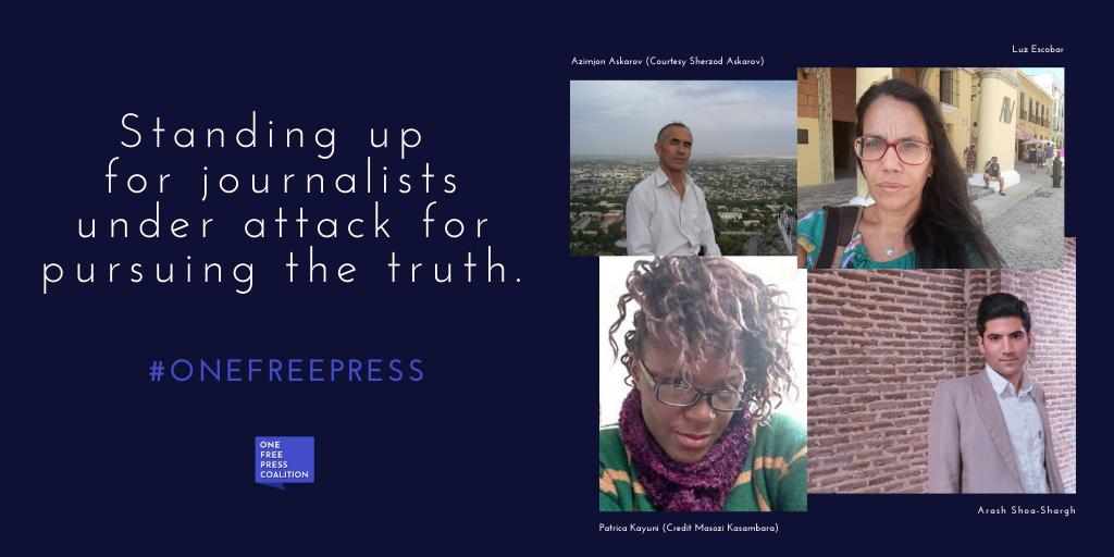 (One Free Press Coalition)