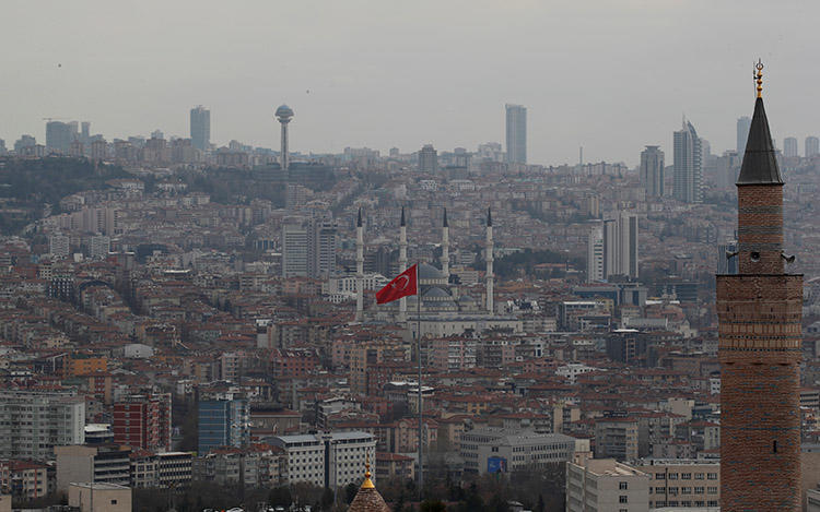 A view of Ankara in April 2019. Turkish journalist Yavuz Selim, who was attacked in the city last year, says he continues to receive threats. (Reuters/Umit Bektas)