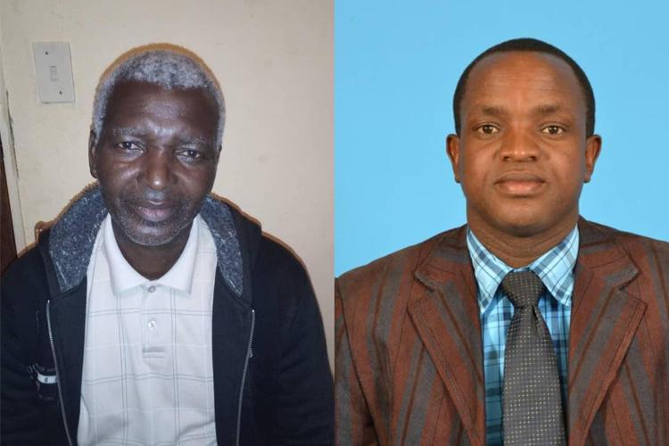 Left: Mfomfo Nkhambule (Photo: Kirsten Nkhambule). Right: Eugene Dube (Photo from Dube).