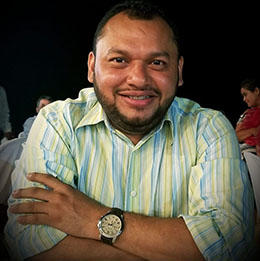 Nicaraguan journalist Alvaro Navarro (Alvaro Navarro)