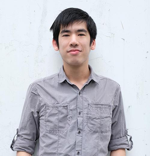 Reporter Brian Hioe (Daphne K. Lee)