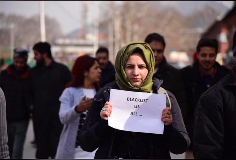 Kashimiri photojournalist Masrat Zahra. (Masrat Zahra)