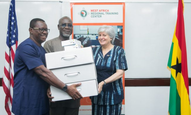 Ghana officials receive technology