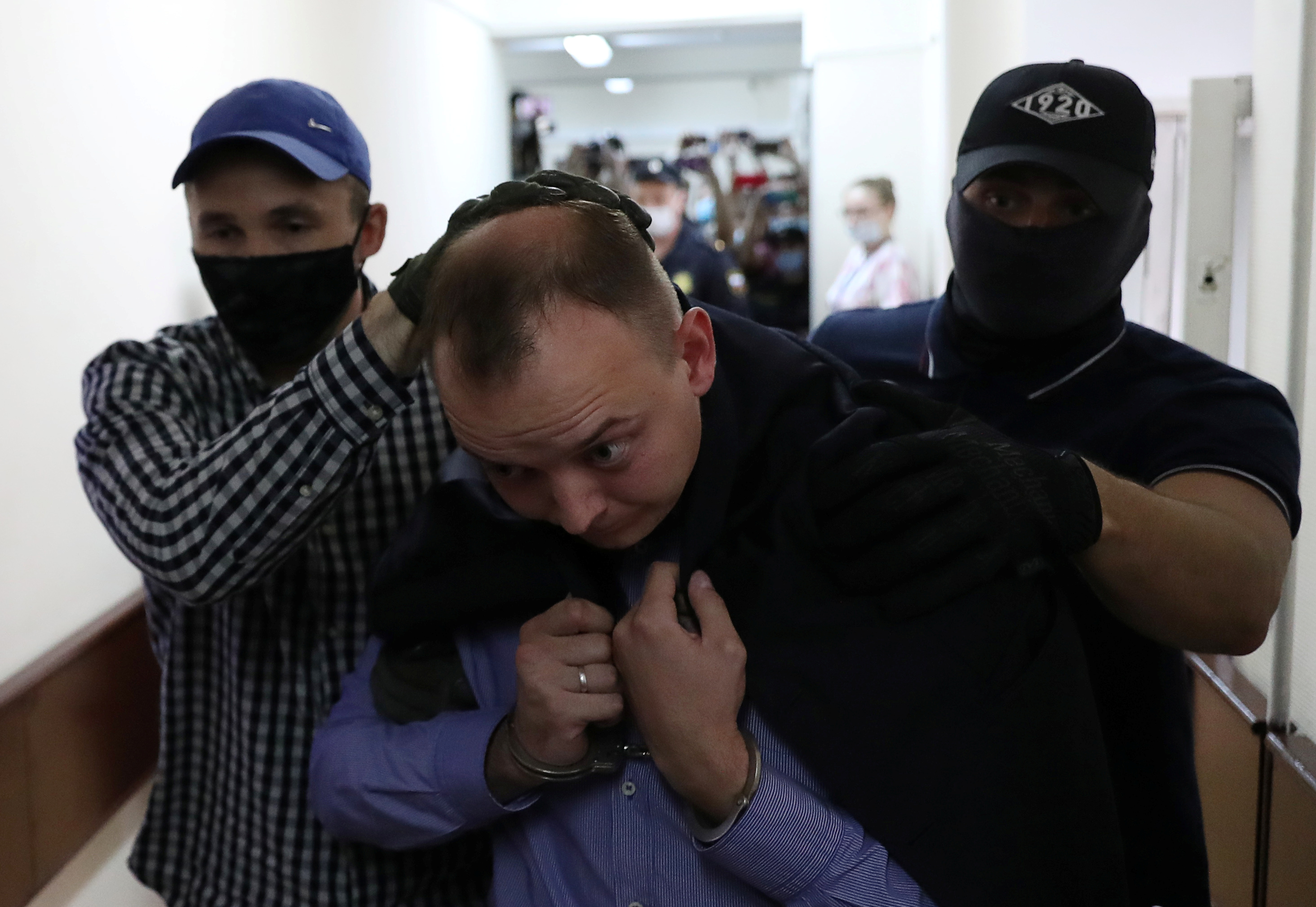Russian journalist Ivan Safronov charged with treason; journalists arrested at protests for his release - Committee to Protect Journalists