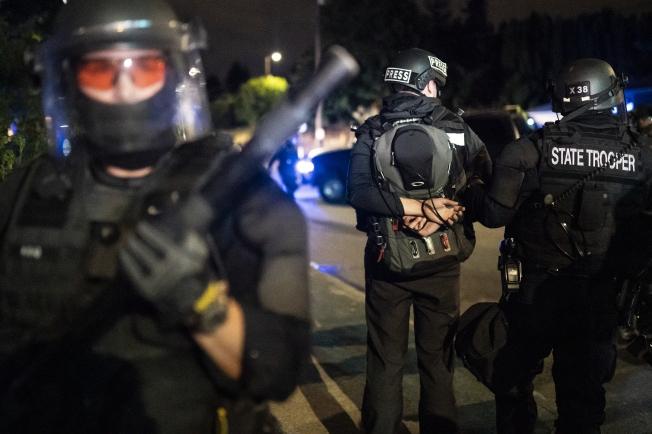 Journalist arrested in Portland