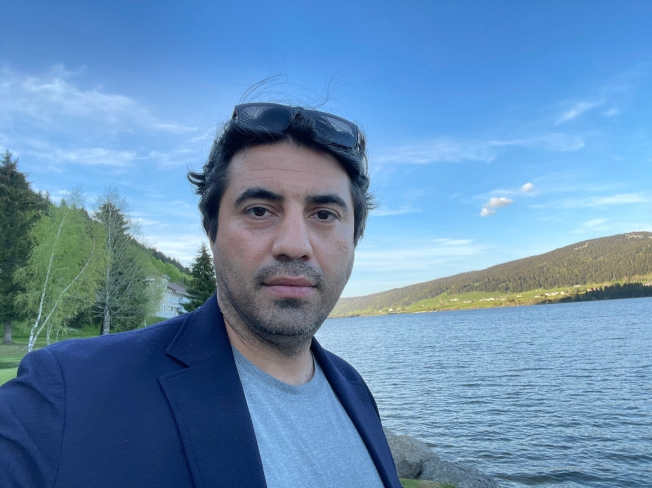 Azerbaijani journalist and press freedom activist Emin Huseynov