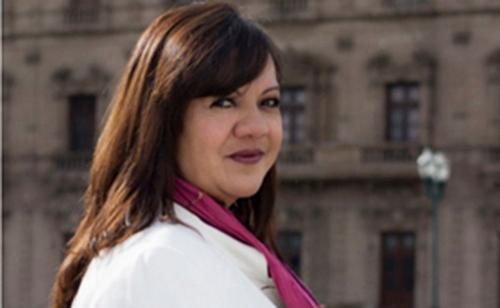Mexican reporter Patricia Mayorga