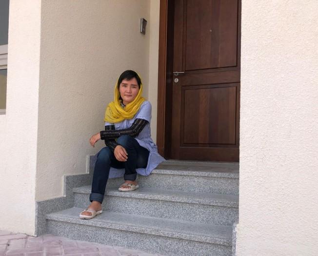 Zahra Adeli in Doha