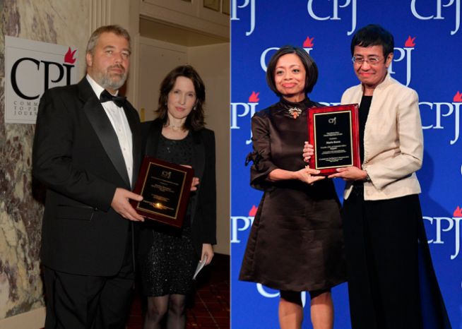 Journalists Maria Ressa, Dmitry Muratov awarded Nobel Peace Prize - Committee to Protect Journalists